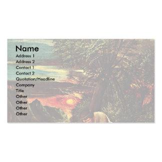 Florian Scenes Follow A Legend Of St. Florian Business Card Template