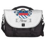 Floriani Family Crest Laptop Messenger Bag