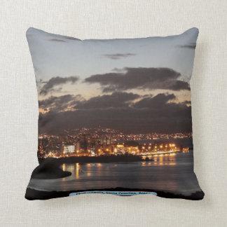 Florianópolis, Santa Catarina, Brazil Throw Pillow