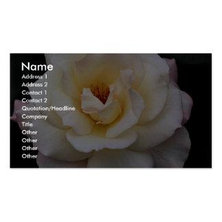 Floribunda precioso plantillas de tarjetas personales