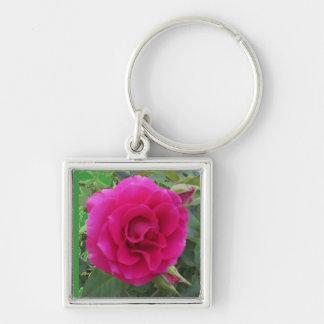 Floribunda Rose Keychain