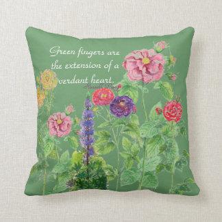 Floribunda Roses pillow