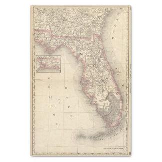 """Florida 10 10"""" x 15"""" tissue paper"""
