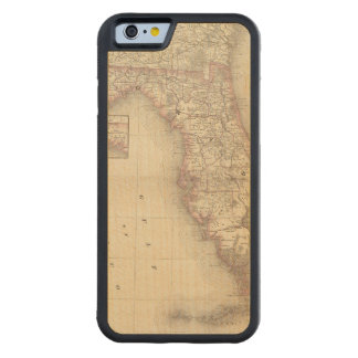 Florida 10 carved® maple iPhone 6 bumper