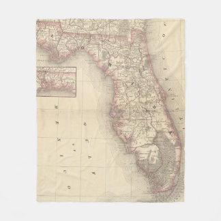 Florida 10 fleece blanket