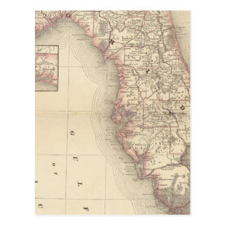 Florida 10 postcard