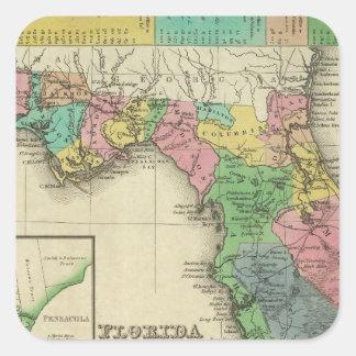 Florida 11 square sticker