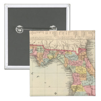 Florida 13 2 inch square button