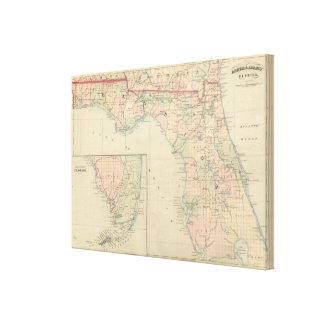 Florida 14 canvas print