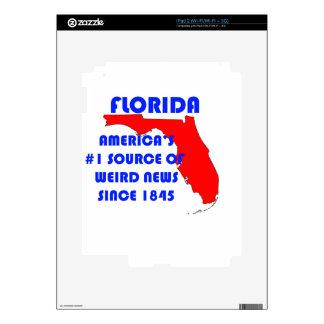 Florida #1 Source for Weird News iPad 2 Decal