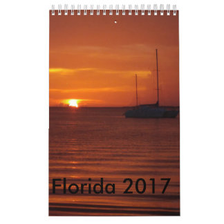 Florida 2017 calendar