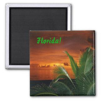 Florida! 2 Inch Square Magnet