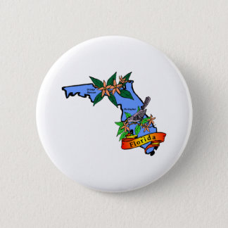 Florida 2 pinback button