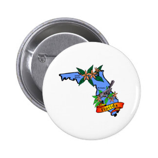 Florida 2 pinback button