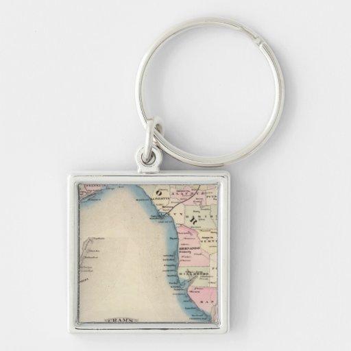 Florida 3 key chain