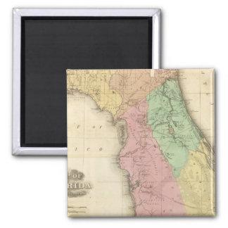Florida 4 2 inch square magnet