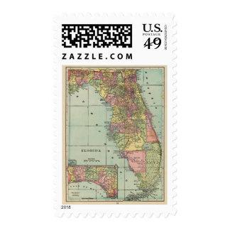 Florida 5 postage stamp