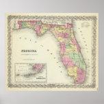 Florida 5 print