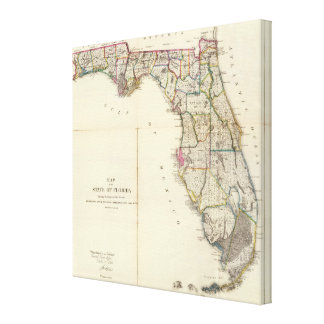 Florida 9 canvas print