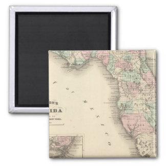 Florida 9 magnet