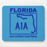 Florida A1A Mouse Pad