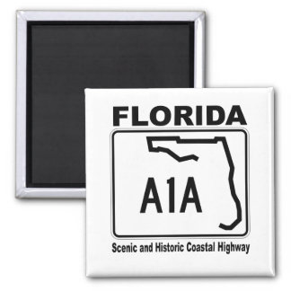 Florida A1A Scenic and Historic Coastal Highway Magnets
