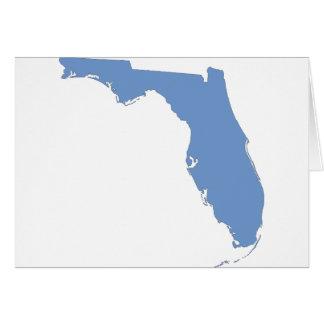 Florida - a blue state card