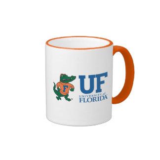 Florida Albert With Hat - Blue Ringer Coffee Mug