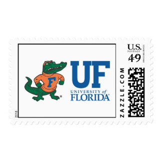 Florida Albert With Hat - Blue Stamp