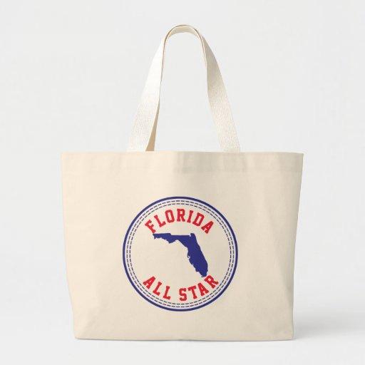 Florida All Star Jumbo Tote Bag