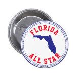Florida All Star Pinback Button