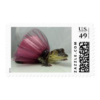 Florida Alligaor Stamp