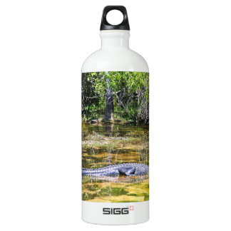 Florida Alligator Aluminum Water Bottle
