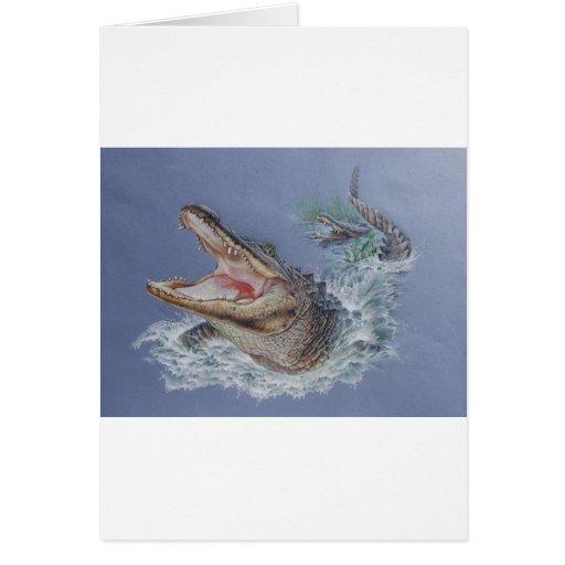 Florida Alligator Card