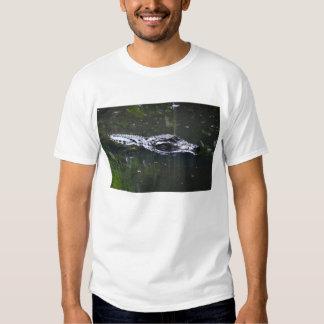 florida alligator head in water tshirts