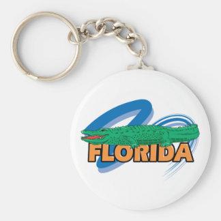 Florida Alligator Keychain
