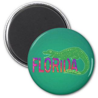 Florida Alligator Refrigerator Magnets