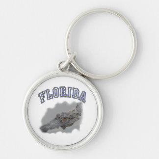 Florida alligator souvenir keychain
