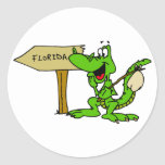 Florida Alligator Stickers