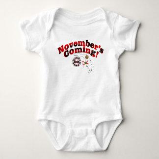 Florida Anti ObamaCare – November's Coming! Baby Bodysuit