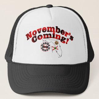 Florida Anti ObamaCare – November's Coming! Trucker Hat