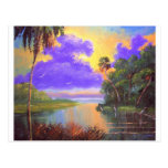 Florida Backwoods Colors Post Card