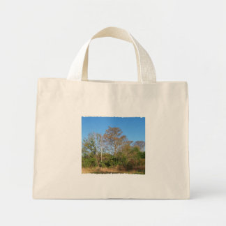 Florida Bald Cypress on a swampy ranch Mini Tote Bag