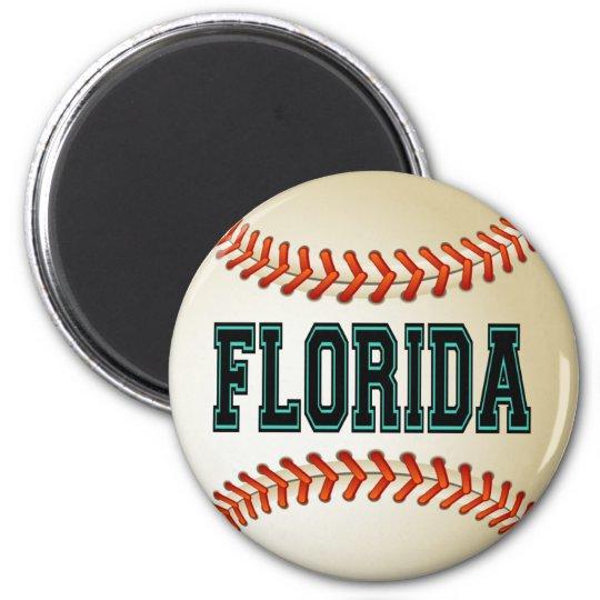 FLORIDA BASEBALL MAGNET