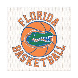 Florida Basketball | Gator Head Canvas Print