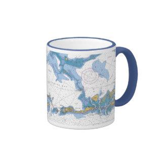 Florida Bay Keys Nautical Chart Mug