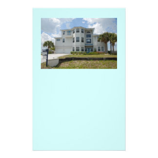 "florida beach home for sale 5.5"" x 8.5"" flyer"