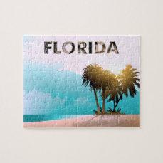 Florida Beach Jigsaw Puzzle