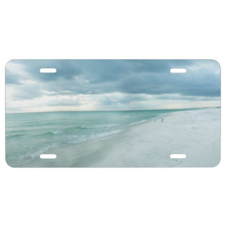 Florida Beach License Plate