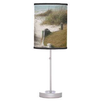 Florida Beach Path Gulf of Mexico Table Lamp